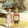 1983 - kids off to school