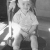 1947 - Bob with bandaid