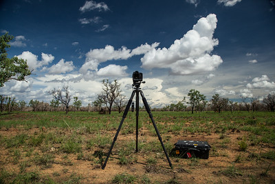 Shooting timelapses in Northern Australia.