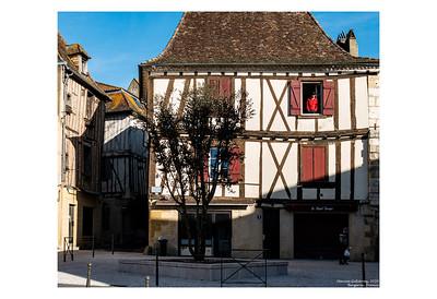 Man in a Window, Bergerac, France
