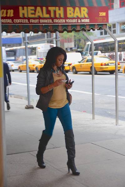 New York City, 2012.