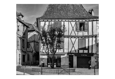 The Man in the Window, Bergerac, France