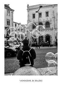Vendedor de Balões, Lisbon, Portugal