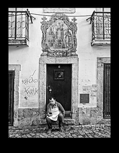 A Moment to Himself, Lisbon, Portugal