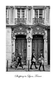 Shopping in Lyon, France