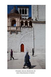 Piazza Della Basilica de San Francisco d'Assisi
