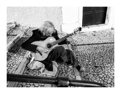 The Guitar Player, Lisbon, Portugal