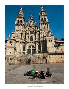 The Long Trek, Santiago, Spain