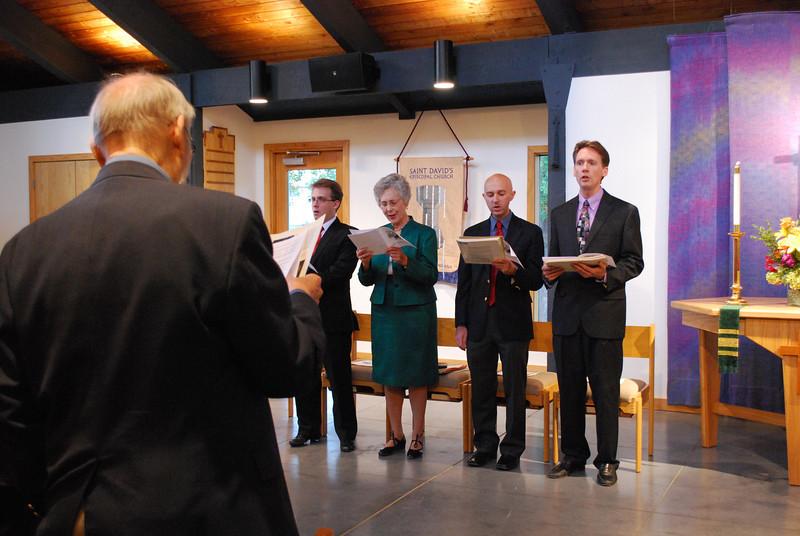 Guest organists: Mr. Simon Thomas Jacobs, Dr. Marilyn Keiser, Mr. Robert Richter, Dr. Dana Marsh