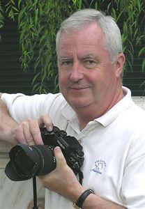 JE in Sofia, Bulgaria August 2005, Photo by Carl Durrant