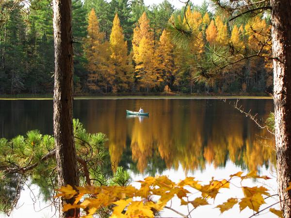 """Fishing on Golden Pond"""