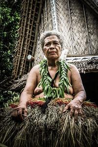 Yap woman 'Agnes', Micronesia