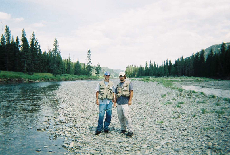 Me and Ben - Snake River in WY