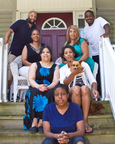 Otis and Sandra Frye family July 2014-10 (1 of 1)