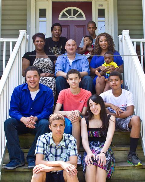 Otis and Sandra Frye family July 2014-5 (1 of 1)