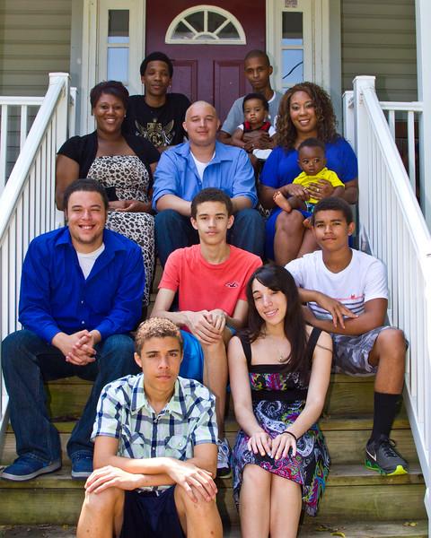 Otis and Sandra Frye family July 2014-7 (1 of 1)