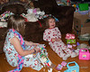 Madison had a fit when we asked her to open more gifts instead of playing with what she already had open