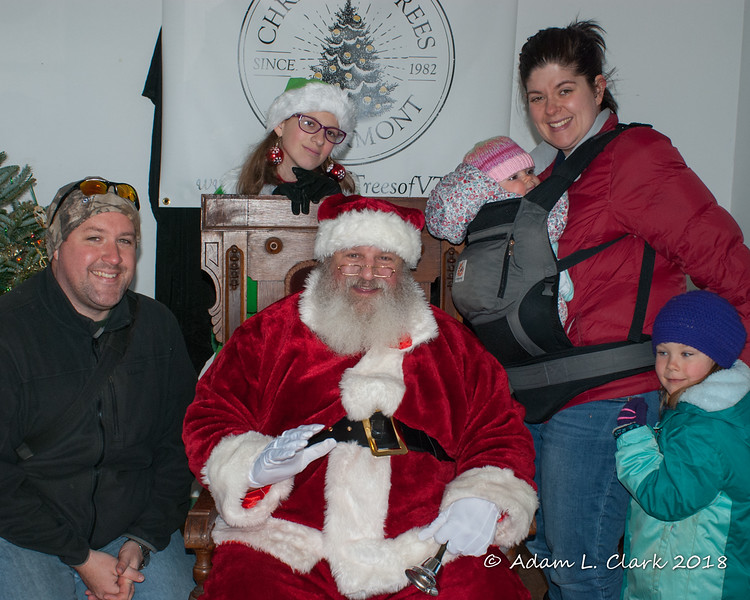 All of us with Santa