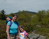 2019.05.25<br> All three girls on one of the peaks of Gap Mountain.  We were headed down at this point and Madison was already asleep