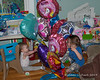 2019.05.24<br> Madison and Liliana both hitting the balloons