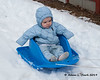 2019.03.24<br> Madison going for a sled ride