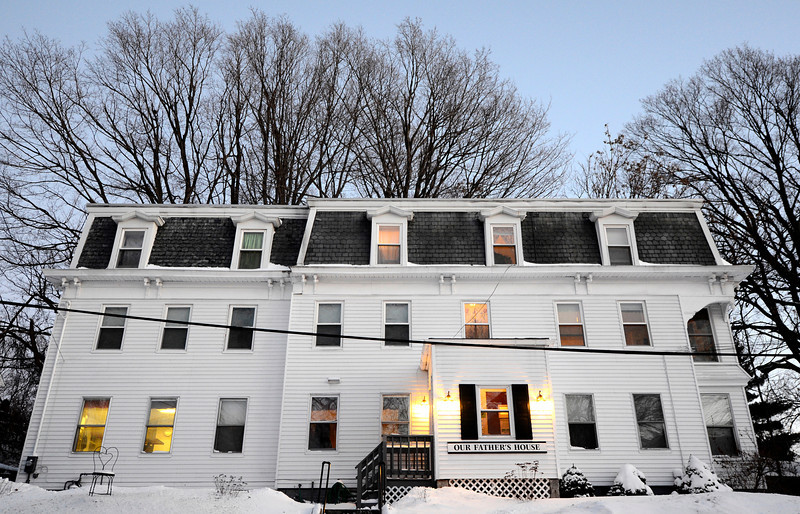 Our Father's House on Lunenburg St. in Fitchburg, Friday evening.<br /> SENTINEL & ENTERPRISE / BRETT CRAWFORD