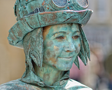 Verdigris Girl - Bath 2014