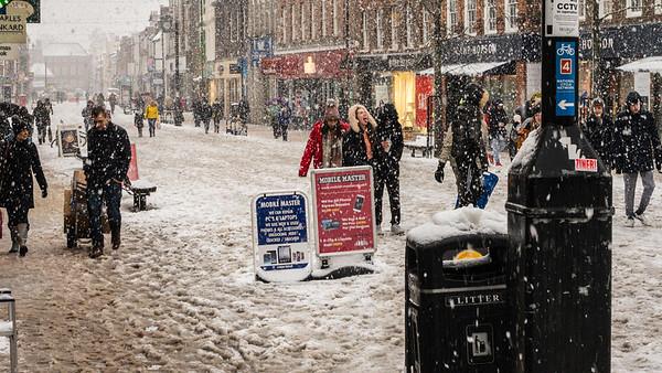 Tasting Snow - Northcroft Street -  Newbury Berkshire