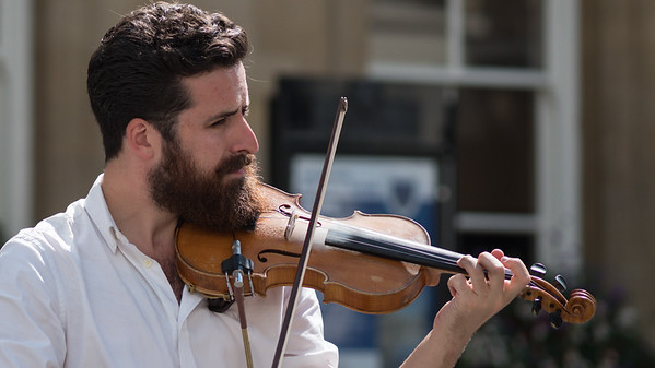 The Violinist - Bath - 5th August 2018