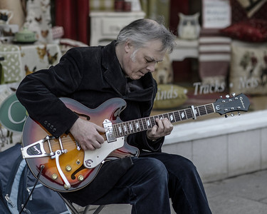 Winchester Street Guitarist