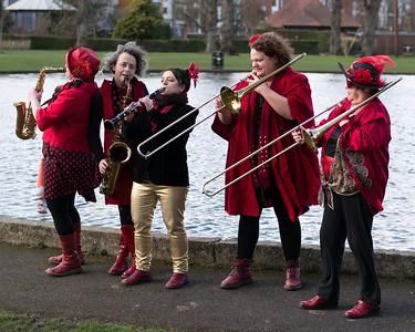 Red Boot Band - Victoria Park Newbury 2017