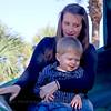 Kelly and Owen enjoying the slide at the park. Atlantic Beach, Florida.