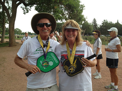 Bill & Carolyn - Silver Medalists! .. [65-69]