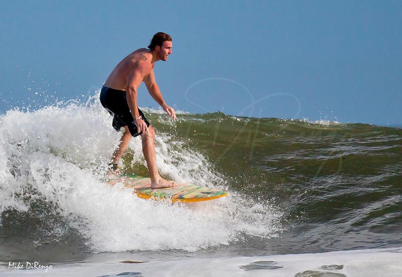 Surfing the Rockaways  6099