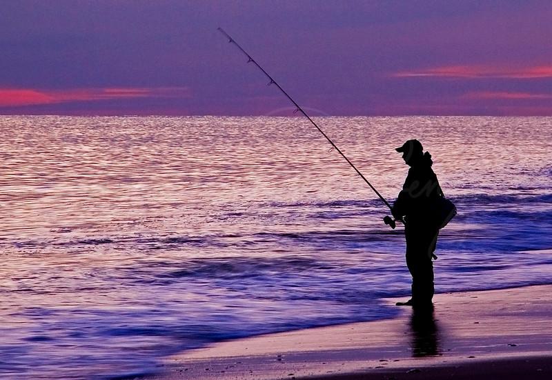 Fisherman at Dusk  0397
