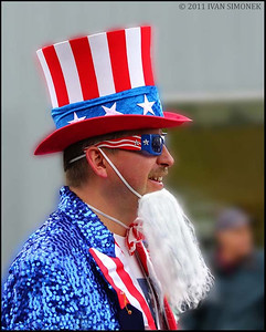 """UNCLE SAM"",July 4th,Wrangell,Alaska,USA."