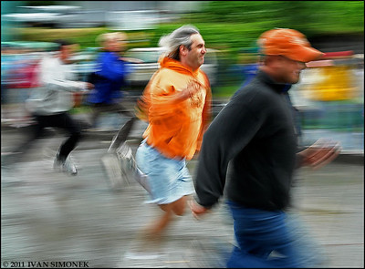 """RUNNERS"",July 4th,Wrangell,Alaska,USA."
