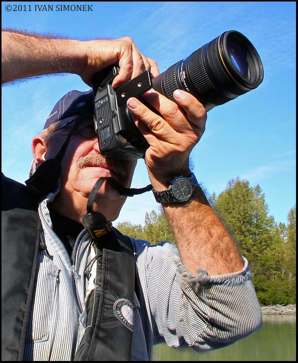 """ROGER IN ACTION 1"", Alaska, USA."