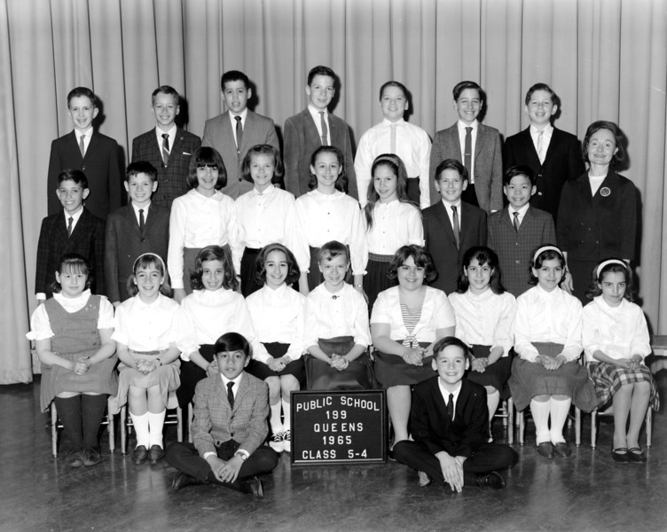 PS 199 Maurice Fitzgerald School Class Photos 1961-1965