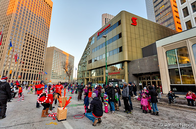 Santa Claus/Grey Cup Parade 2015 / Jordan Nepon ©