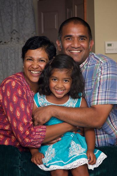 Naomi with Parents