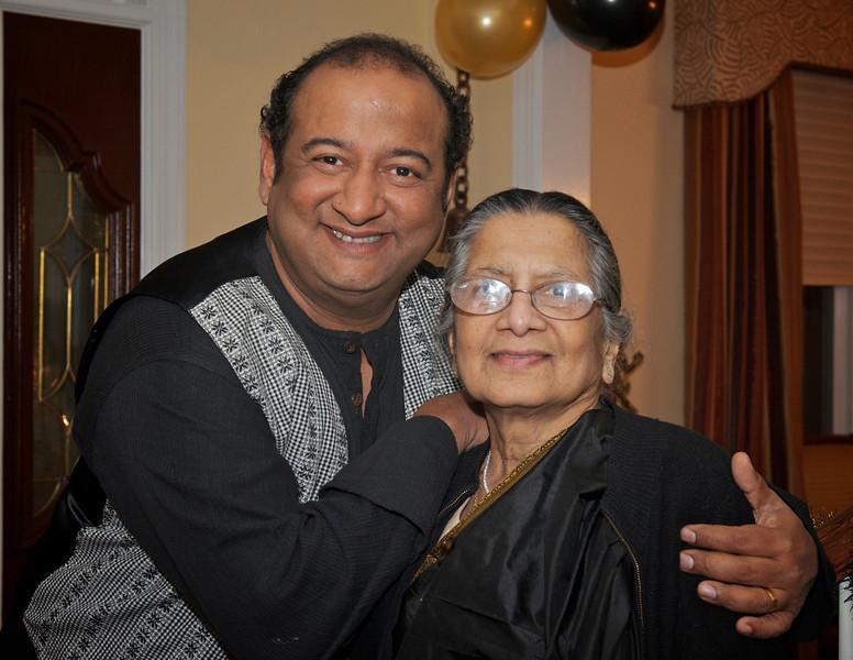 Vikram and Mom