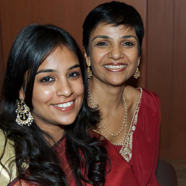 Aparna with Mom