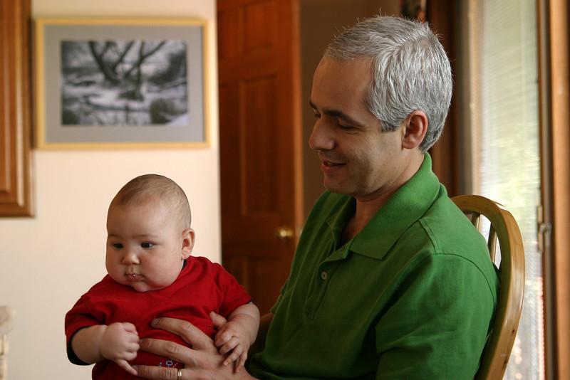 Adnan and Evren- May 2005