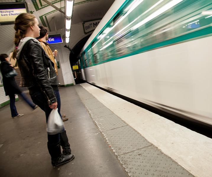 Metro, Paris (March 2015)