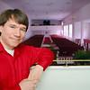 Pastor PJ O'Connor of the Village Church at 75 Sawyer Street in Lancaster. SENTINEL & ENTERPRISE/JOHN LOVE