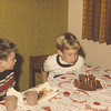 Blowing out the candles, 1977
