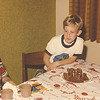 Pat's 9th birthday, 1977