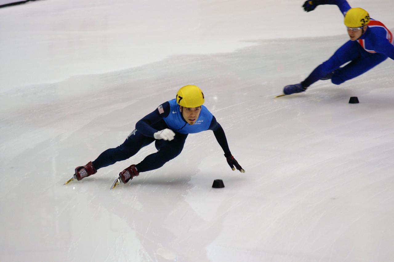Apollo Anton Ono World Cup Shorttrack Speedskating Marquette, MI 11-13-2009