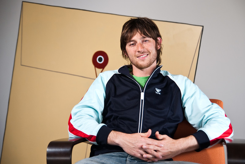 Xobni co-founder Matt Brezina, photographed at company headquarters in San Francisco, May 2010.